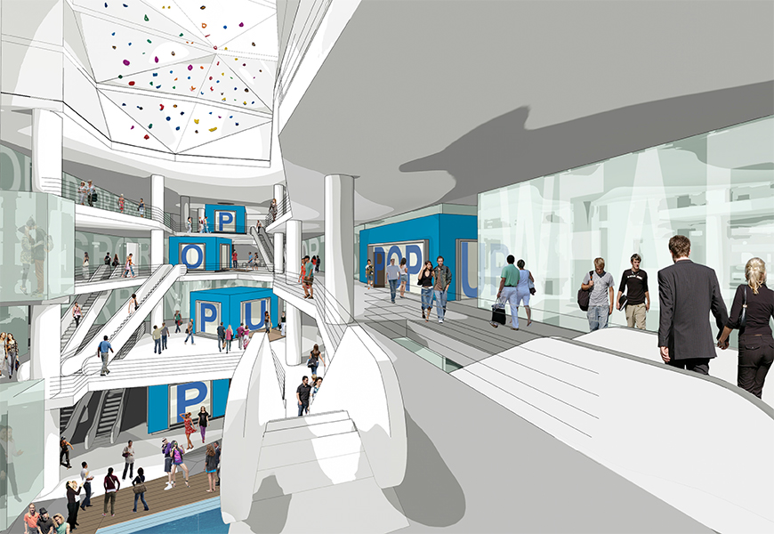 the rock mall concept
